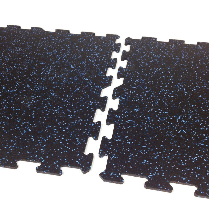 Neoflex 500 Series Interlocking Rubber Mat 12mm Thickness Home Gym Malaysia