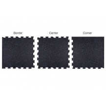 Neoflex™ 500 Series Interlocking Rubber Mat (12mm thickness)