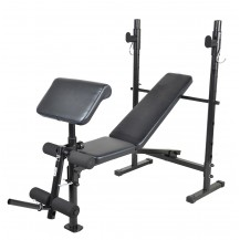 Vigor Foldable Barbell Bench